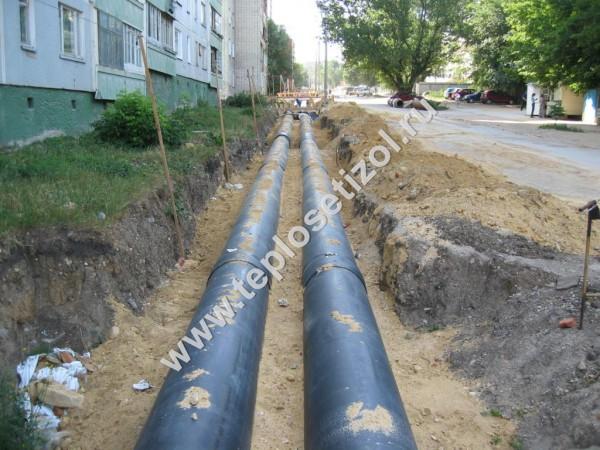 Монтаж труопроводов производства ООО ТеплоСетьИзол 1