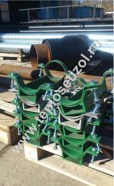 Опоры для труб ППУ система контроля 5