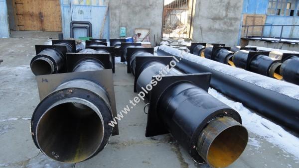 Трубы и детали трубопроводов в ППУ изоляции 10