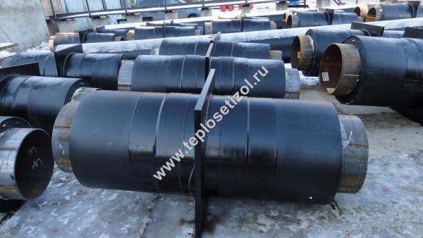 Трубы и детали трубопроводов в ППУ изоляции 11