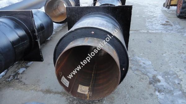 Трубы и детали трубопроводов в ППУ изоляции 12