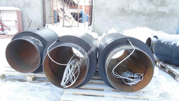 Трубы и детали трубопроводов в ППУ изоляции 13