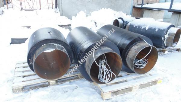 Трубы и детали трубопроводов в ППУ изоляции 14