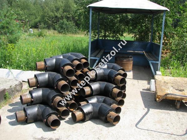 Трубы и детали трубопроводов в ППУ изоляции 15