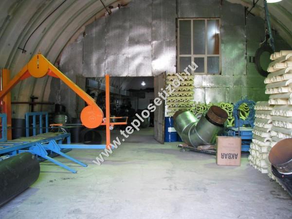 Трубы и детали трубопроводов в ППУ изоляции 16