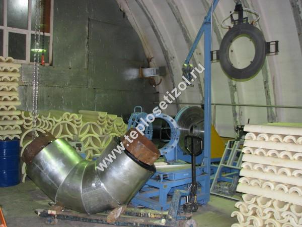 Трубы и детали трубопроводов в ППУ изоляции 17