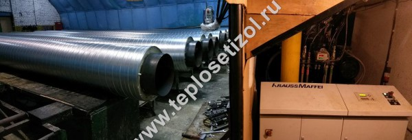 Трубы и детали трубопроводов в ППУ изоляции 20
