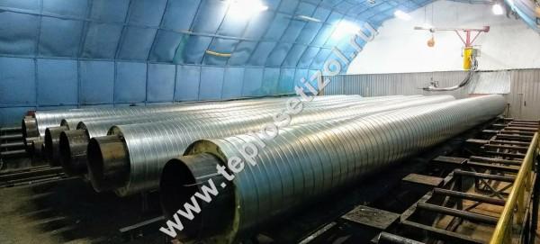 Трубы и детали трубопроводов в ППУ изоляции 21