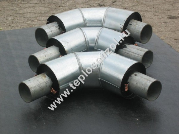 Трубы и детали трубопроводов в ППУ изоляции 22